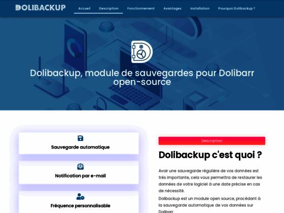 image du site https://dolibackup.com/fr/