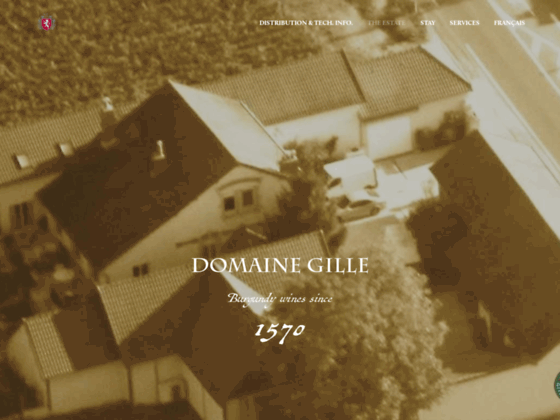 Corton grands crus Bourgogne - Domaine Gille