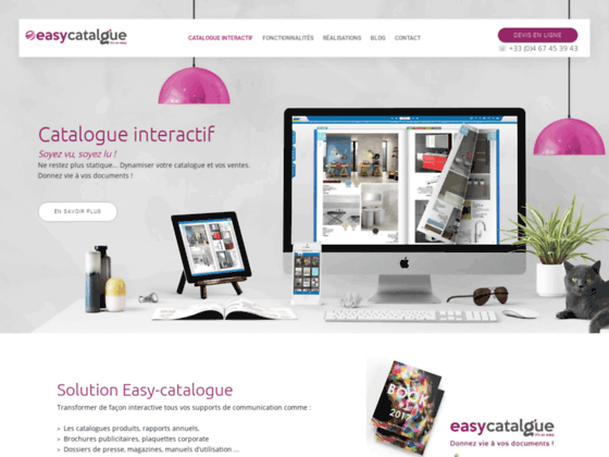 Détails : catalogue virtuel