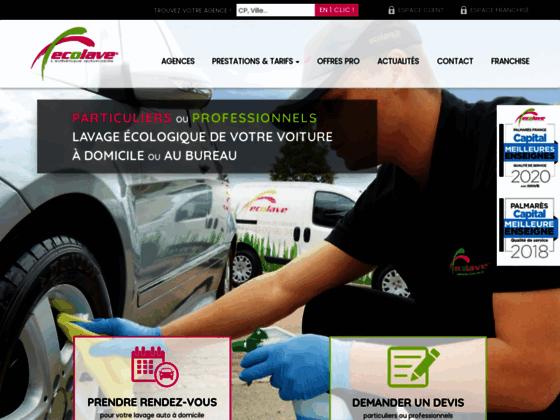 Détails : Ecolave - Réseau de franchise en esthétique automobile