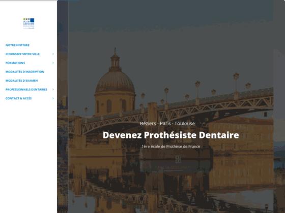 Détails : formation prothesiste dentaire