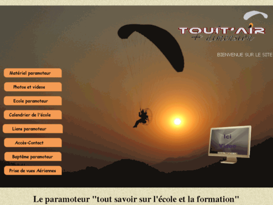 Photo image ecole de Paramoteur Touit'air
