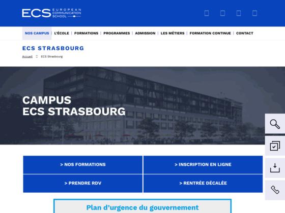 Détails : ECS Strasbourg