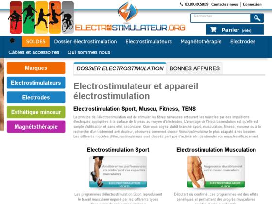 Equipements d'électrostimulation et d'électrothérapie