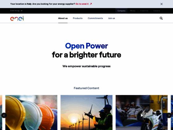 Détails : Enel – distributeur d'électricité et gaz