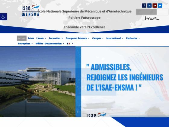 Photo image ENSMA - Ecole d'ingénieurs en aéronautique, transport, mécanique et éner