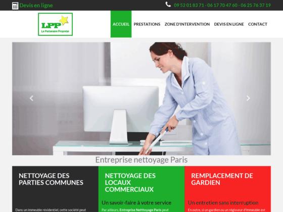 Votre partenaire propreté, entreprise de nettoyage à Paris