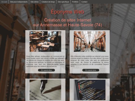 image du site https://eponymeweb.fr