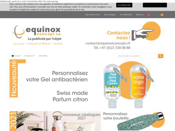 image du site https://equinoxconcept.ch