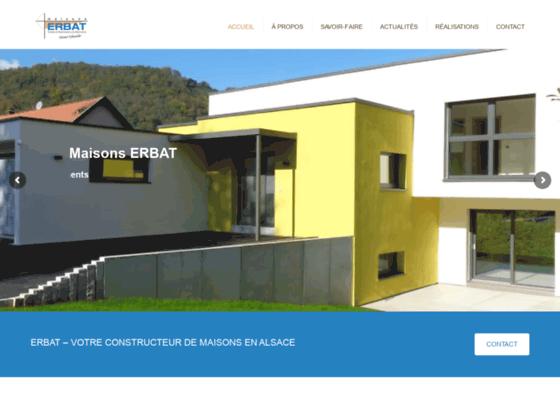 Maisons Erbat, l'unique interlocuteur pour la rénovation de maison (Haut-Rhin)