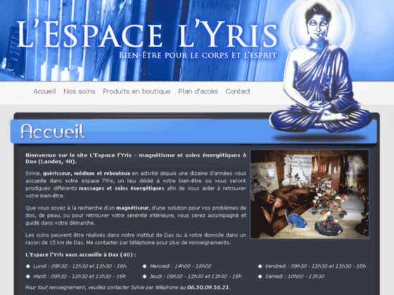 L'espace l'Yris : Massage du corps et soins énergétiques (40)