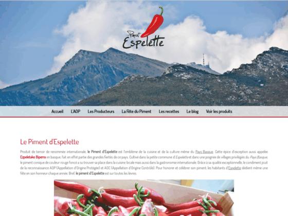 Détails : Piment du Pays Basque