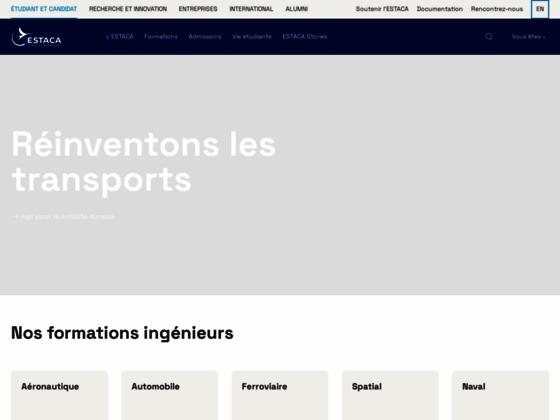 Photo image ESTACA, école d'ingénieurs du transport, propose une formation pour l'automobile, l'aéronautique, l'