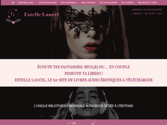 image du site http://estelle-lancel.com