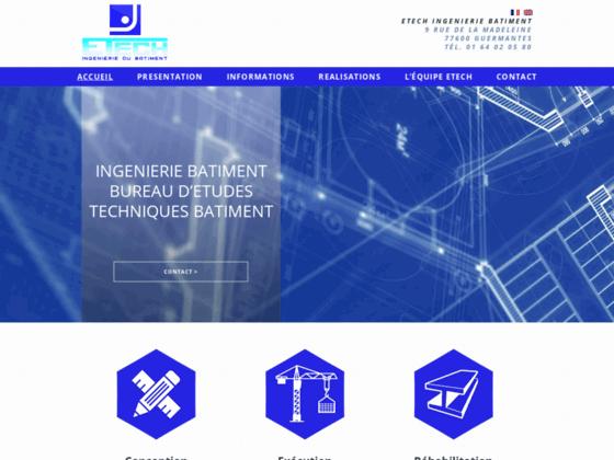 Détails : Etech: Ingénierie en Bâtiment