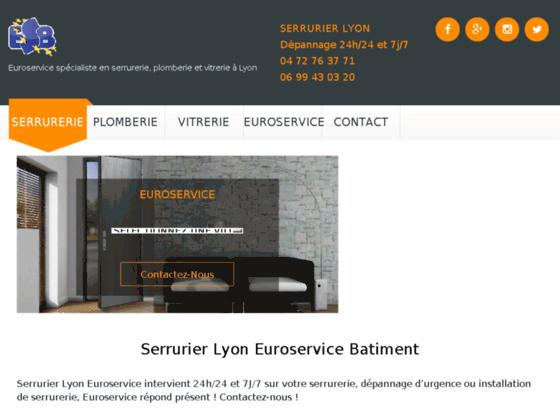 Détails : Euroservice serrurerie Lyon vous dépanne 24h/24