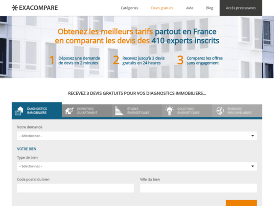 Diagnostic immobilier, DPE diagnostic de performance énergétique