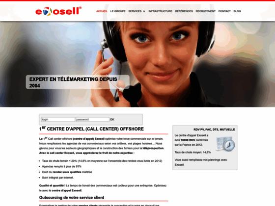 Détails : centre d'appel exosell