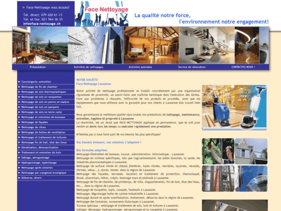 Détails : Nettoyage professionnel à Lausanne
