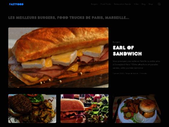 Détails : Des centaines d'idées de fast food pour manger rapidement à Paris