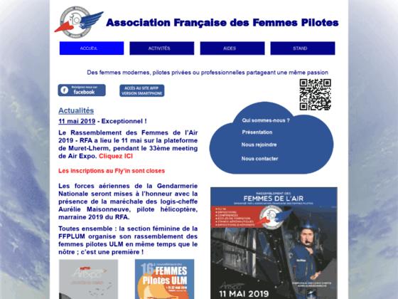 Photo image Association Française des Femmes Pilotes (AFFP)