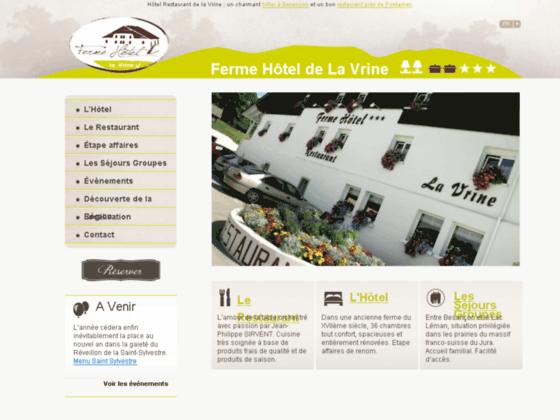 Détails : Hôtel Ornans - La Vrine