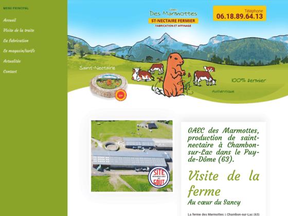Détails : Gaec des Marmottes : Ferme agricole (63)