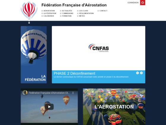 Photo image Fédération Française d'Aérostation - Accueil