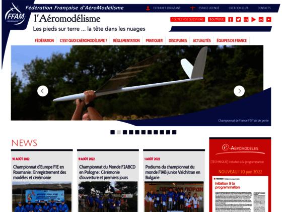 Photo image FFAM - Fédération Française d'AéroModélisme