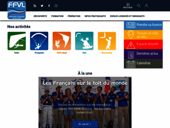 Photo image FFVL.FR | Le site internet de la Fédération Française de Vol Libre