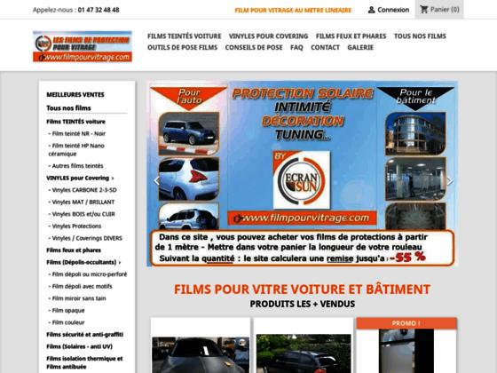 Détails : Filmpourvitrage.com : autocollant effet carbone 3D