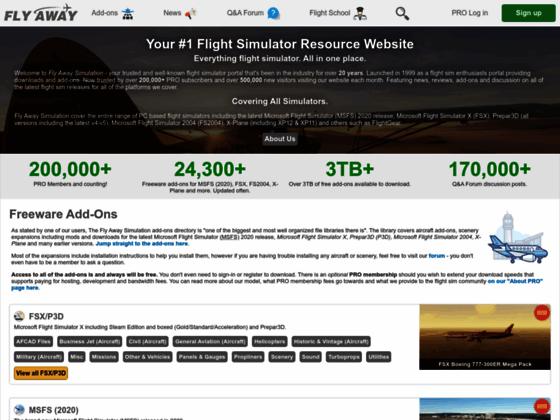 Photo image Fly Away Simulation, Flight Simulator #1