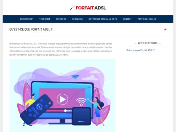 image du site http://forfait-adsl.net