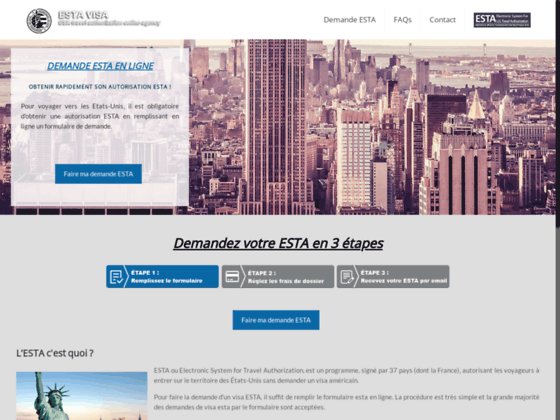 image du site http://www.formalites-esta.com