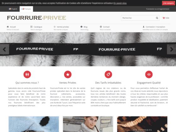 Détails : Boutique en ligne de manteaux de fourrure