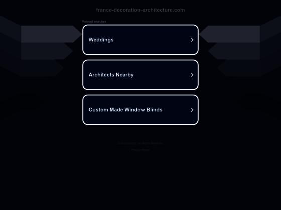 Détails : Architecture intérieur