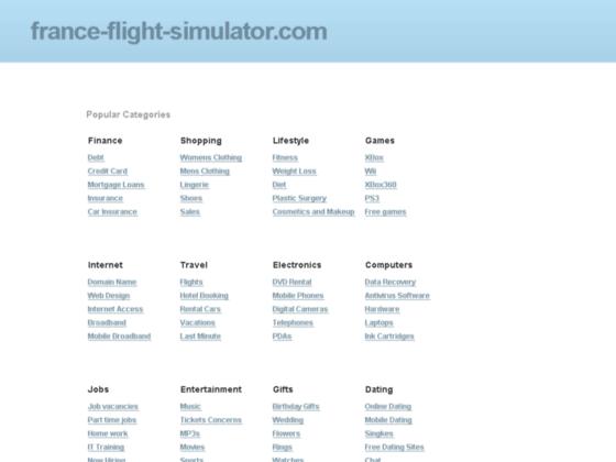 Photo image Flight Simulator France - Forum de discussion - V2.0