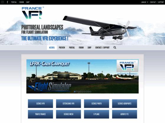 Photo image France VFR - Scènes photo-réalistes pour Microsoft Flight Simulator