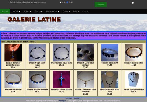 Photo image Galerie Latine - Artisanat latino