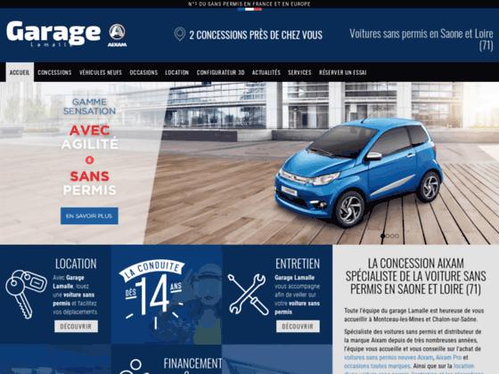 Détails : Voitures sans permis Saône et Loire (71)