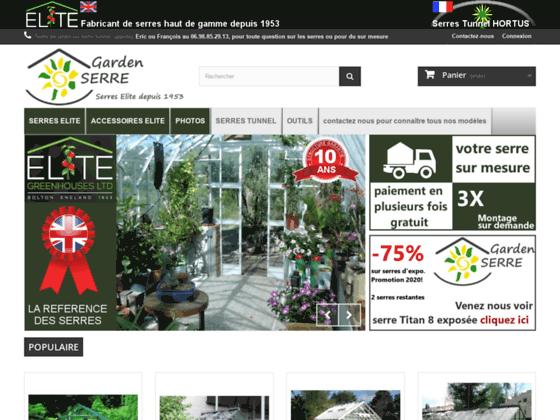 Détails : Garden serre