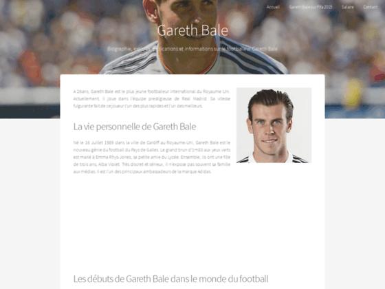 Détails : Gareth Bale