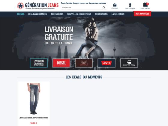 Détails : jeans homme pas cher