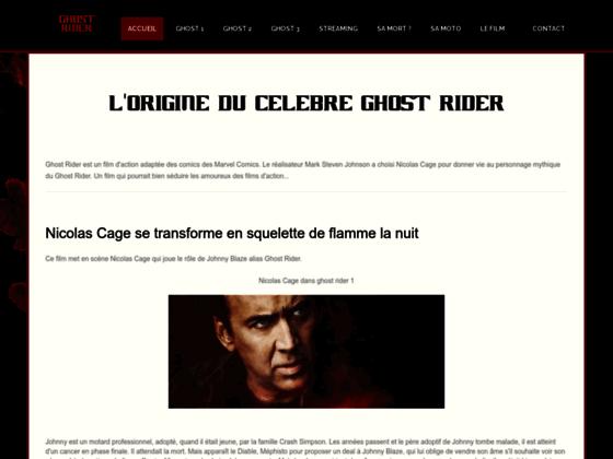 Détails : Ghost Rider: Le motard de flammes
