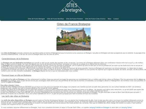 Détails : louer gîtes de France Bretagne