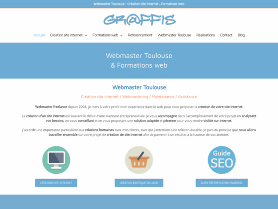 Webmaster Toulouse Graffis