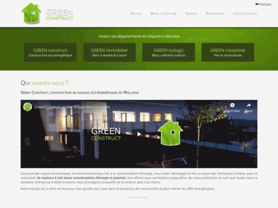 Détails : Green Construct: maisons passives et blocs coffrants