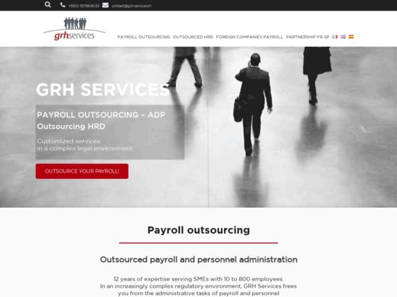 Détails : GRH Services, un cabinet de paie externalisée pour les PME