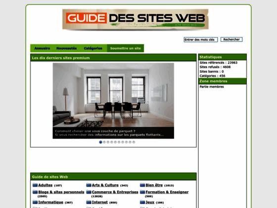 Détails : Un guide pour sites internet