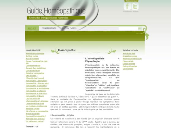 Tout savoir sur les pathologies et l'homéopathie